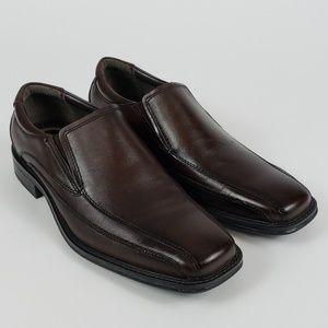 🆕️ Dockers Franchise Mahogany Leather Dress Shoe